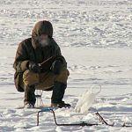 На Ильмене рыбак провалился под лёд
