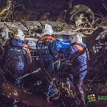 Ночное ДТП на Великой: фоторепортаж Алексея Александрова с места трагедии