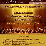Сегодня юношеский оркестр из Норвегии исполнит в Новгороде «Балладу протеста»