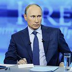 В эфире прямой линии Путин выбрал вопрос о «расстреле чиновников»