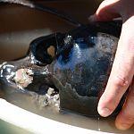 Со дна Мсты подняли останки водителя грузовика с миномётной установкой