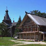 В новгородском музее деревянного зодчества дежурит пожарный экипаж