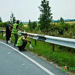 Фотофакт: к велопробегу с участием губернатора обочины Юрьевского шоссе привели в порядок