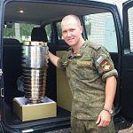За победу в танковом биатлоне боровичанину вручили УАЗ-Патриот