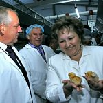 Ввод нового корпуса на птицефабрике «Гвардеец» увеличит производство яиц на 22 миллиона штук