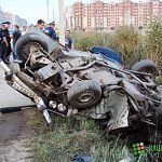 Серьёзное ДТП на Псковской: водитель ВАЗ-2106 в тяжёлом состоянии, авто - в утиль