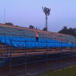 На «Центральном» стадионе в Великом Новгороде установили пластиковые кресла