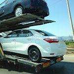 Новгородца Тяна осудили за угон в Петербурге автовоза с пятью «Тойотами»