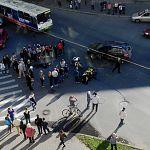 Водитель иномарки, сбившей мотоциклиста в центре Новгорода, выезжал со второстепенной дороги