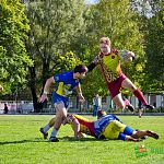 Новгородцы впервые в истории выиграли Кубок мэра по регби-7