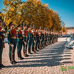 Рота Почётного караула стала украшением Дня зарождения российской государственности