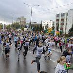 79-летняя бабушка пробежала «Кросс нации» в Великом Новгороде