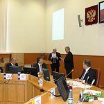 Депутата Ивана Андреева наградили за прыжки в длину