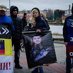 Мать погибшего в Донбассе новгородца Геннадия Щеглова осудила использование плаката с его изображением