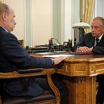 Президент России в Сочи встретился с новгородским губернатором Сергеем Митиным