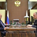 Губернатор поговорил с президентом об аэропорте в Кречевицах и пригласил на Вахту Памяти
