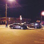 Фотофакт: ДТП на перекрестке Большой Московской и Московской улиц