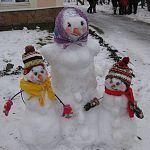 Вандалы за ночь уничтожили всех необыкновенных снеговиков, созданных участниками конкурса  в Поддорье