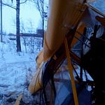 Боровичский самолёт упал под Киришами