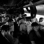 В Великом Новгороде задержали и отпустили автобус с 12 иностранными рабочими