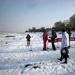 В Старорусском районе прошёл десятый «лыжный десант» в честь подвига воинов-якутян