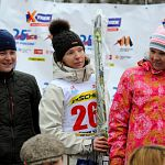 Лыжница из Новгородской области победила в «гонке на выживание»
