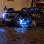 Во вчерашнем ДТП участвовала машина Николая Фёдорова?