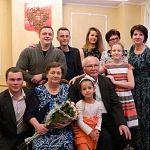 В Новгородской области отметили золотую свадьбу Валентин и Валентина