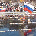 Новгородские моржи «забронзовели»