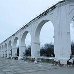 Аркаду на Ярославовом дворище отреставрируют до середины ноября