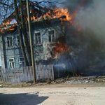 В Пролетарии сгорела двухэтажка, в которой жили шесть человек