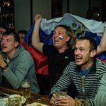 Новгородцы разделили горечь поражения с российскими хоккеистами