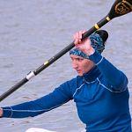Дарья Лукина выиграла марафон на чемпионате России по гребле на байдарках