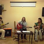 Рок-музыканты исполнили в Антониевом монастыре песни на стихи Велимира Хлебникова