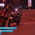 Новгородец ночью сбил мотоциклиста в Санкт-Петербурге