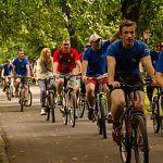В велопробеге вокруг кремля участвовали 550 велосипедистов