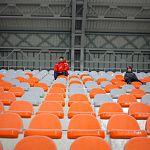 Стадион в парке 30-летия Октября ввели к эксплуатацию