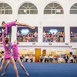 Новгородские пары и тройки доминировали на первенстве Северо-Запада по спортивной акробатике