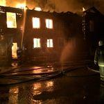 Пожар в посёлке Пролетарий оставил без крыши над головой два десятка человек