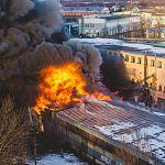 Прокуратура: предприятие на территории «Волны», в котором произошёл пожар, не могло выпускать полиэтилен