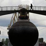 Подлодку «Великий Новгород» спустили на воду
