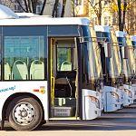 Пять первых «Ютонгов» пополнили городской «Автобусный парк»