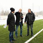 На первые игры ФК «Тосно» во входной зоне новгородского стадиона уложат резиновое покрытие