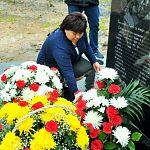 В Поддорье увековечили память двух друзей - украинца и киргиза - совершивших подвиг самопожертования в годы войны