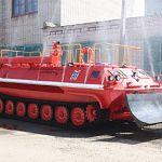 На вооружение новгородским пожарным поступил легкобронированный тягач