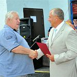 Сергей Митин поздравил рыбаков на празднике во Взваде