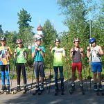 Лыжники-спартанцы проводят жаркое спортивное лето