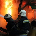 В Новгородской области сгорело кафе «Инна»