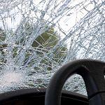 «Урал» и «Опель» сгорели после столкновения в Поддорском районе