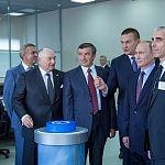 Президент открыл в Великом Новгороде агрегат «Аммиак-4»